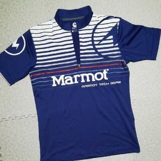 マーモット(MARMOT)のマーモット ハーフジップシャツ メンズS(シャツ)