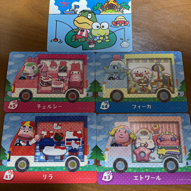 任天堂(ニンテンドウ)の【バラ売可】サンリオ amiiboカード エンタメ/ホビーのアニメグッズ(カード)の商品写真