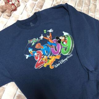 ディズニー(Disney)のディズニー ミッキー スウェット トレーナー Mサイズ パーカー 長袖シャツ(スウェット)