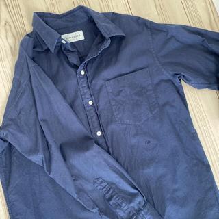 シンゾーン(Shinzone)のShinzone  シンゾーン レギュラーカラーシャツ ネイビー(シャツ/ブラウス(長袖/七分))