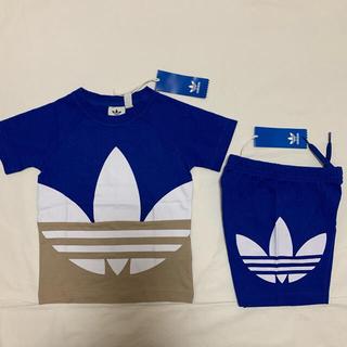adidas - 新品 アディダス オリジナルス 半袖 Tシャツ ハーフ パンツ セット 90