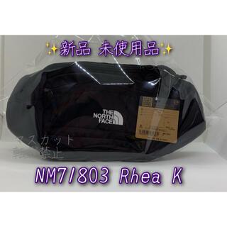 ザノースフェイス(THE NORTH FACE)のノースフェイス RHEA リーア NM71803 K ブラック ボディバッグ 黒(ウエストポーチ)