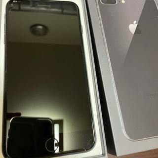 アップル(Apple)のiPhone 8 Plus Space Gray 256 GB 利用制限確認済(スマートフォン本体)