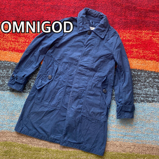 OMNIGOD オムニゴッド ステンカラーコート DOMINGO ドミンゴ
