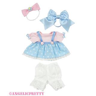 Angelic Pretty - Angelic Pretty Moco mocoドットウェアSet サックス