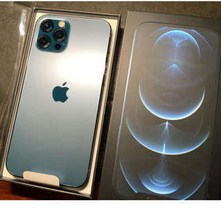 Apple - iPhone12Pro 128GB SIMフリー パシフィックブルー新品開封のみ