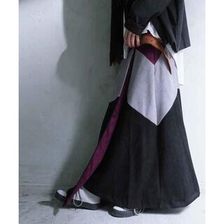 antiqua - 新品☆彡【antiqua】配色 ラップ スカート ブラックベース Mサイズ