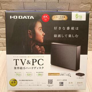 IODATA - 【未使用開封済】アイ・オー・データ HDCZ-UTL6KC 外付けHDD 6TB