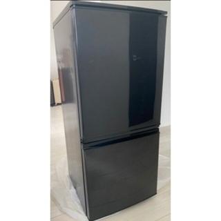 シャープ(SHARP)の札幌市近郊の方限定!配達無料! シャープ 2ドア冷蔵庫 137L 2014年製(冷蔵庫)