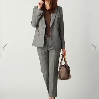 THE SUIT COMPANY - *スーツカンパニー*REDA ウインドーペーン柄 ダブルブレストスーツ