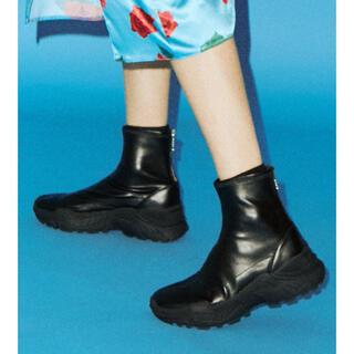 jouetie - 新品 jouetie スニーカーソールブーツ ブラック Lサイズ
