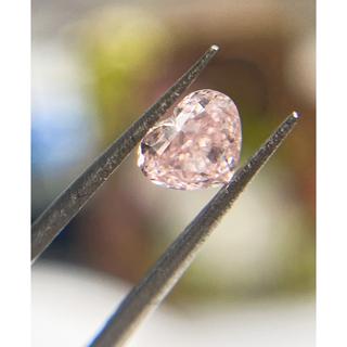 【超美品】ピンクダイヤルース0.306ct・fancy pink VS