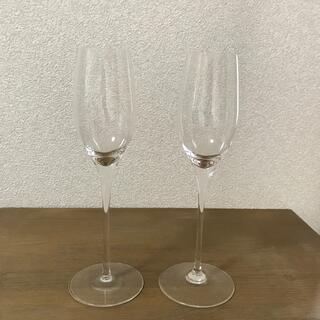 スガハラ(Sghr)のスガハラ シャンパングラス 2個セット(グラス/カップ)