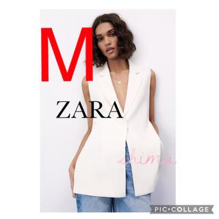 ザラ(ZARA)のZARA スリットベスト クリーム M スリット ベスト TODAYFUL(ベスト/ジレ)