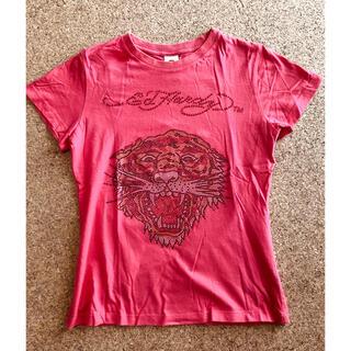 エドハーディー(Ed Hardy)のEd Hardy エドハーディ ラインストーン Tシャツ ヴィンテージ(Tシャツ(半袖/袖なし))