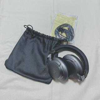 オーディオテクニカ(audio-technica)のワイヤレスヘッドホン(ヘッドフォン/イヤフォン)