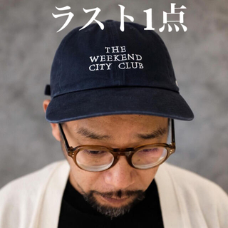 THE WEEKEND CITY CLUB CAP キャップ