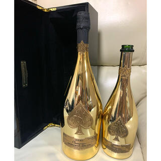 アルマンドバジ(Armand Basi)のアルマンド ブリニャック ゴールド マグナムボトル 1500ml 化粧箱付き!(シャンパン/スパークリングワイン)