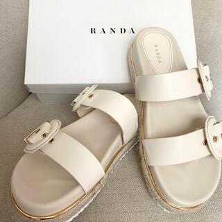 RANDA - ランダ サンダル 未使用近い美品