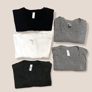 アメリカンアパレル(American Apparel)のAmerican apparel VネックTシャツ5枚セット(Tシャツ(半袖/袖なし))