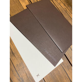 ルイヴィトン(LOUIS VUITTON)のLOUIS  VUITTON  メッセージカード 3枚セット(カード/レター/ラッピング)