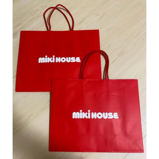 ミキハウス(mikihouse)のMIKI HOUSE ミキハウス ショッパー/ショップ袋 未使用品(ショップ袋)