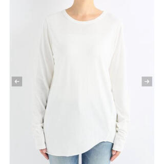 DEUXIEME CLASSE - Layering Tシャツ ドゥーズィエムクラス ホワイト