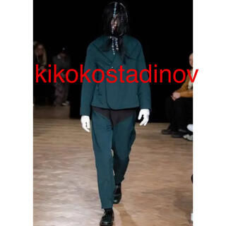 マッキントッシュ(MACKINTOSH)のkiko kostadinov キココスタディノフ 19aw パンツ レア!!(スラックス)