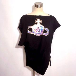 Vivienne Westwood - ヴィヴィアンウエストウッド 絵画 オーブ 変形 カットソー
