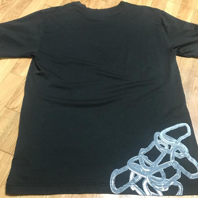 THE NORTH FACE(ザノースフェイス)の✅ ノースフェイス Tシャツ ブラック L 古着 送料無料 メンズのトップス(Tシャツ/カットソー(半袖/袖なし))の商品写真