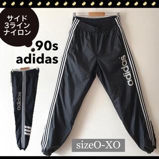 adidas - adidas★90sデサントアディダス★サイド3ライン★ナイロンジョガーパンツ