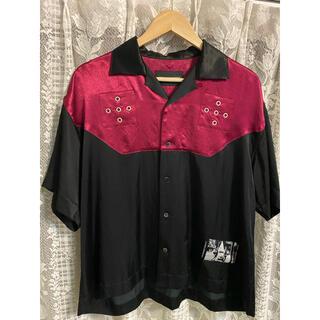 yuki hashimoto 19ss ボーリングシャツ