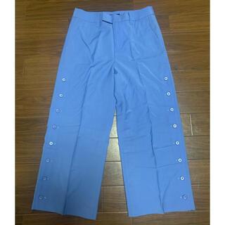 スタニングルアー(STUNNING LURE)のSTUNNING LURE スタニングルアー サイドボタン パンツ ブルー(カジュアルパンツ)