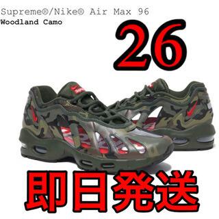 シュプリーム(Supreme)のsupreme Nike Air Max 96 woodland camo(スニーカー)