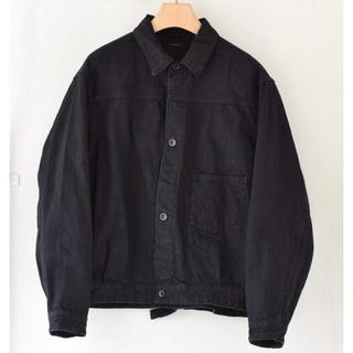 COMOLI - COMOLI コモリ 20AW ブラックデニムジャケット サイズ4