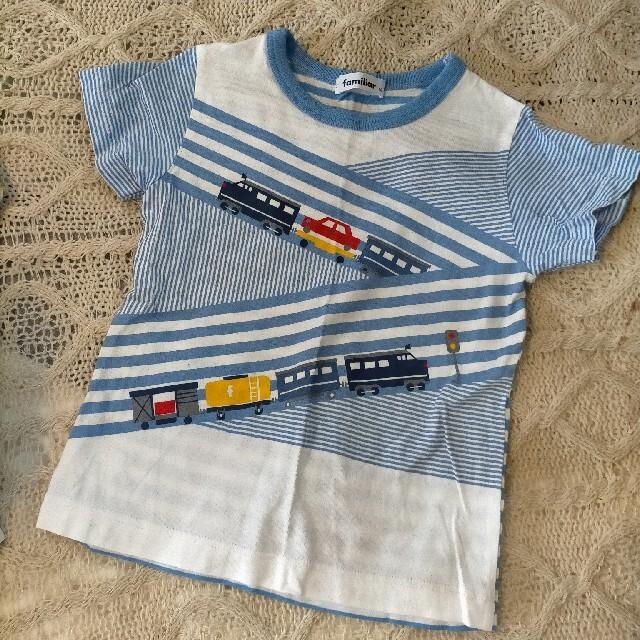 familiar(ファミリア)のfamiliar Tシャツ 110 未使用 キッズ/ベビー/マタニティのキッズ服男の子用(90cm~)(Tシャツ/カットソー)の商品写真