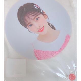 エーケービーフォーティーエイト(AKB48)のIZ*ONE ユジンうちわウチワ ONEIRIC THEATER オンライン(アイドルグッズ)