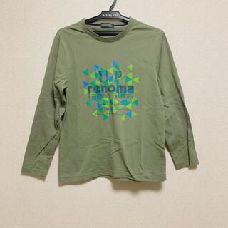 ユーピーレノマ(U.P renoma)のU.P renoma ユーピーレノマ カーキ色 ロングTシャツ ロンT(Tシャツ/カットソー(七分/長袖))