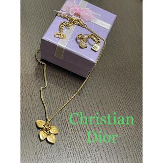 クリスチャンディオール(Christian Dior)のChristian Dior ネックレスとピアスのset(ネックレス)