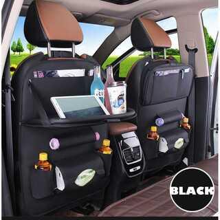 カーシート ダイニングテーブル 車用 シートバックポケット  アウトドア 高級感