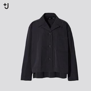 UNIQLO - +JプラスJ オーバーサイズシャツジャケット(レデイース)