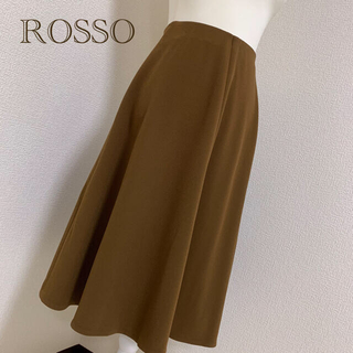 URBAN RESEARCH ROSSO - 【中古美品】URBAN RESEARCH ROSSO WOMENフレアスカート*