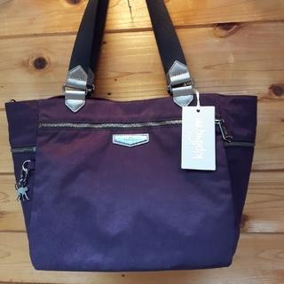 キプリング(kipling)の新品未使用!キプリングトートバッグ、K18481、色ディープヴェルヴェット(紫)(トートバッグ)