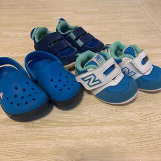 クロックス(crocs)の11〜12cm 3足おまとめ クロックス、NB(サンダル)