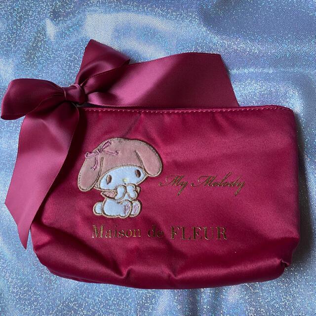 Maison de FLEUR(メゾンドフルール)のPINK MANIA あざとMy Melodyポーチ MaisondeFLEUR レディースのファッション小物(ポーチ)の商品写真