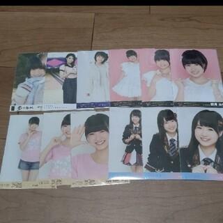 エイチケーティーフォーティーエイト(HKT48)のHKT48朝長美桜 生写真 セット 1                  (アイドルグッズ)