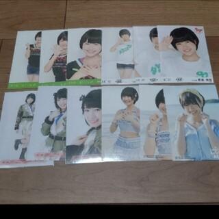 エイチケーティーフォーティーエイト(HKT48)のHKT48朝長美桜 生写真 セット 2                  (アイドルグッズ)