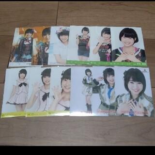 エイチケーティーフォーティーエイト(HKT48)のHKT48朝長美桜 生写真 セット  3                 (アイドルグッズ)
