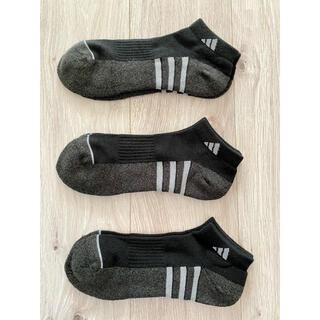 アディダス(adidas)のadidas アディダス メンズソックス 25〜28センチ 3足セット!(ソックス)