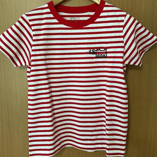 ユニクロ(UNIQLO)のユニクロ×キースヘリング ボーダーTシャツ(Tシャツ(半袖/袖なし))